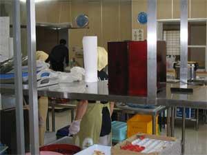 交流センター調理室