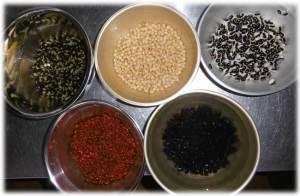 大鹿産豆五種